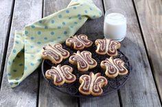 Recette - Biscuits Papillon en vidéo Biscuits Papillon, Snacks, Kids Meals, Food And Drink, Gluten, Pudding, Nutrition, Sweets, Sugar