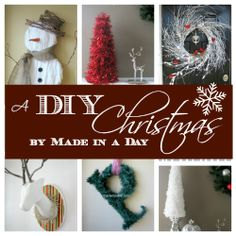 DIY holiday decorations, crafts and more. Yarn snowman, Winter Wispy Wreath, Christmas crafts garlands and a faux deer head! Christmas crafts to make, holiday decorations and more. Christmas Craft Fair, Christmas Craft Projects, Christmas Makes, Noel Christmas, All Things Christmas, Winter Christmas, Holiday Crafts, Holiday Fun, Christmas Decorations