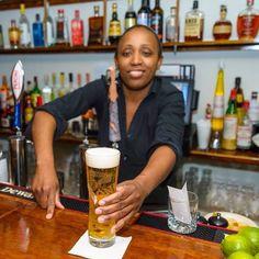 Our #bartender Shante!