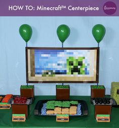#Occasionary HOW TO: #Minecraft™ Centerpiece