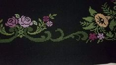 Cross Stitch, Tapestry, Decor, Cross Stitch Embroidery, Roses, Punto De Cruz, Hanging Tapestry, Tapestries, Decoration