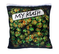 My Kush Maximum Lifestyle Printed 18 Inch Pillow Case Cushion Design of Weed Cannabis Printed Pillow Cases Marijuana Leaf Dope Home Decor Online, Home Decor Outlet, Marijuana Funny, Stoner Room, Stoner Art, Coffee Table Pictures, Discount Home Decor, Chill Room