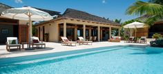 Villa Alamandra Pool Deck Terrace - coral stone!