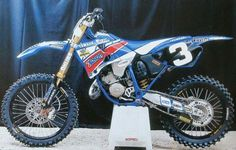 Claudio Federereci Yamaha YZ 125cc. 1998 Yamaha Motocross, Motocross Love, Racing Motorcycles, Vintage Motorcycles, Yamaha Yz 125, Yamaha Wr, Mx Bikes, Cool Bikes, Dirt Bike Magazine