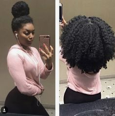 May 2020 - hairstyles for long hair hairstyles curly hair hairstyles 2018 braided hairstyles hairstyles for white girls braided hairstyles for long hair hairstyles middle part hairstyles that make your hair grow Natural Hair Journey, Natural Hair Care, Natural Hair Buns, Natural Hair Styles Protective, Afro Hairstyles, Hairstyles Games, Ethnic Hairstyles, Hairstyles 2018, Natural Hairstyles