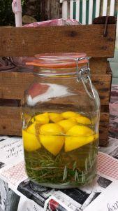 Vin de romarin et citron