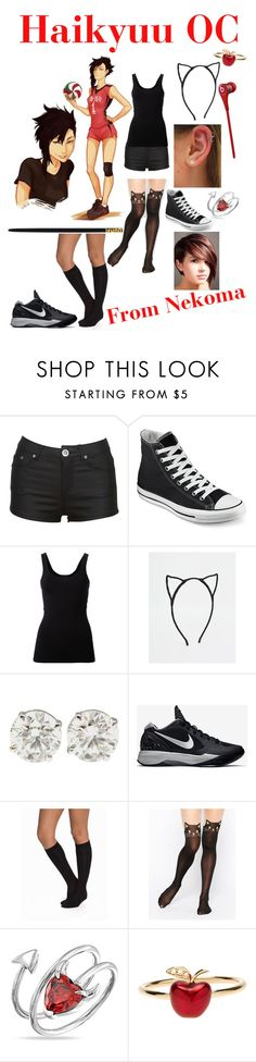 """""""Untitled #119"""" by lost-in-the-moment ❤ liked on Polyvore featuring Converse, Theory, Pieces, NIKE, Vogue, Leg Avenue, Bling Jewelry, Alison Lou and Beats by Dr. Dre"""