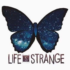 'Life is Strange Galaxy Butterfly' T-Shirt by QueenHannahh Life Is Strange Fanart, Life Is Strange 3, Life Is Strange Wallpaper, Star Citizen, Arcadia Bay, A Silent Voice, Chef D Oeuvre, Fan Art, Flyer