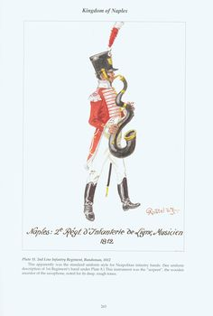 Kingdom of Naples: Plate Line Infantry Regiment, Bandsman, Kingdom Of Naples, Napoleonic Wars, Sailors, Military History, Troops, Empire, Drawers, Soldiers, Italia