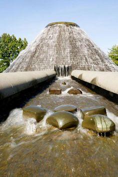 """Douglas Hollis's """"Waterworks"""" in Cal Anderson Park."""
