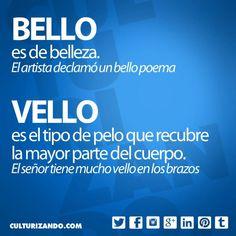 Bello y Vello