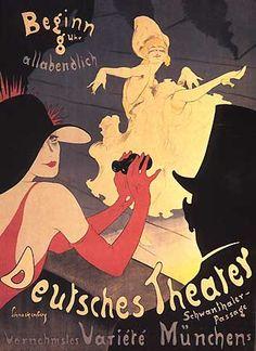 Deutsches Theater, via Flickr.