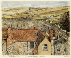 Carisbrooke Castle - Portraits of Britain