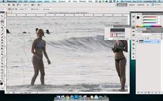 How to remove a person from a picture in Photoshop Tutorial With and without Content Aware