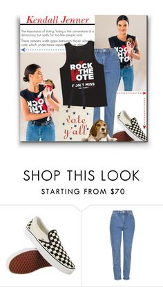 """Classic Rock"" by sherieme ❤ liked on Polyvore featuring CO, Vans and Topshop"