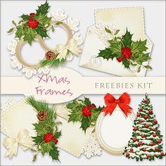 Scrap. DOT: Freebies Xmas Frames Kit