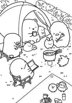Cute Coloring Pages, Coloring Sheets, Coloring Books, Essential Oil Combos, Art Sketchbook, Doodle Art, Club Hairstyles, Arts And Crafts, Doodles
