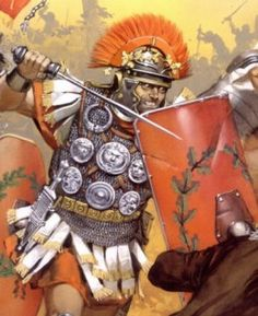 Roman Battle Pictures | The Roman Slaughter at Teutoburg Forest near Kalkriese, Sept. 9 AD