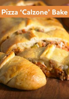 Pizza 'Calzone' Bake is sure to please even your pickiest of eaters!