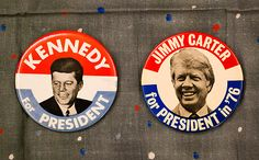 a history of campaign buttons...i am a big collector!