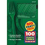 #ad Amscan Big Party Pack 100 Count Mid Weight Plastic Forks, Green  https://www.amazon.com/Amscan-Party-Count-Weight-Plastic/dp/B004UPSQD4/ref=xs_gb_rss_A2NQLV8CV1DY71/?ccmID=380205&tag=atoz123-20