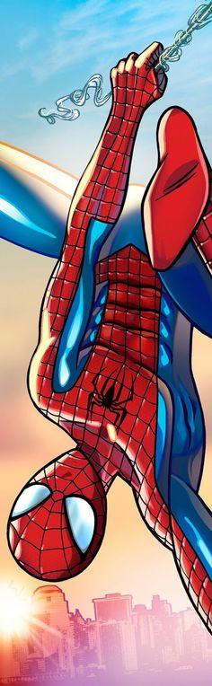 Spiderman Panel Art by RichBernatovech.deviantart.com on @DeviantArt