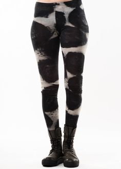 Leggings by RUNDHOLZ Black Label - Leggings made of same material/patterns as the tunics or skirts to match.