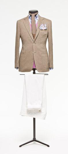 Brown jacket  Plain http://www.tailormadelondon.com/shop/tailored-jacket-fabric-7429-plain-brown/