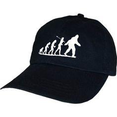 Bigfoot Evolve Sasquatch Crypid Paranormal Ufo Alien Hat By Achtung T Shirt LLC