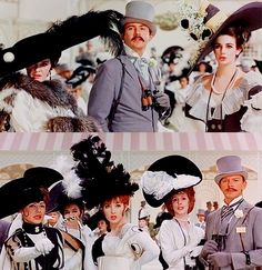 """Cecil Beaton hats in My Fair Lady """"Ascot Opening Day"""" Gavotte, 1964"""