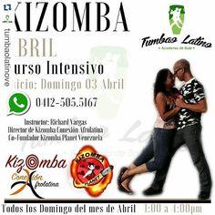 #Repost @tumbaolatinove with @repostapp  KIZOMBA EN TUMBAO LATINO.  CURSO INTENSIVO de 12 horas en cuatro clases de 3 horas cada una todos los DOMINGO del mes de ABRIL.  El taller será dictado por el instructor Richard Vargas @richardvargas_kizomba De Kizomba Venezuela @kizombavenezuela @kizconexionafro  Casa de la Cultura de #Naguanagua  Para mayor información:  Whatssap sms o llamadas: 0412-505.5167  Facebook: Academia de Baile Tumbao Latino  Instagram-Twitter: @TumbaoLatinoVe  #Carabobo…