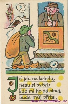 Bude, Czech Republic, Folklore, The Past, Posters, Graphics, Comics, Retro, Drawings