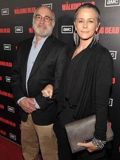 The Walking Dead Season 2 L.A Premiere--Jeffery and Mel