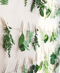 Botanical #backdrop, loving this greenery wall! // InHonorOfDesign.com- #FloralDesign