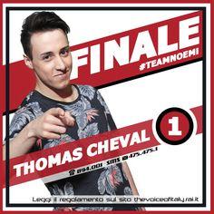 #ThomasCheval #TeamNoemi #TVOI #FINALE