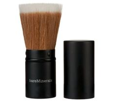It's all about the brush!!! bareMinerals Ready Hydrating Touch Up Veil with Feather Light Brush — QVC.com