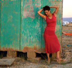 Yarrow Dress (Organic Cotton) Long -- Someday