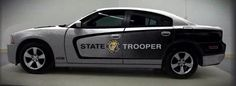 North Carolina, North Carolina State Highway Patrol vehicle.
