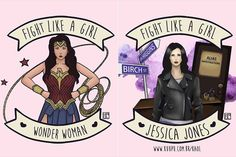 inspiracao-ilustracoes-personagens-carolinaporfirio-003 Hermione, Thought Pictures, Wonder Woman Movie, Girl Fights, Tough Girl, Who Runs The World, Dc Movies, Jessica Jones, Intersectional Feminism