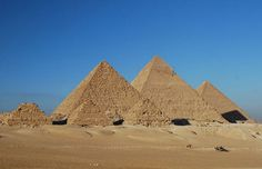 Oh, hey Egypt. definitely need to see the pyramids at some point.