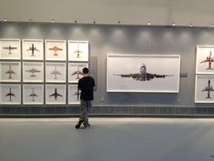 jeffrey_milstein, Jets as Art F Stop, Air And Space Museum, Contemporary Photography, Jets, Airplanes, Artists, Frame, Wall, Planes