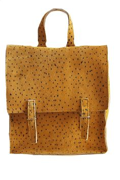 Bobo Things Satchel Suede Pea