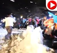 VIDEO: World's Largest Snowball Fight | Web Videos - 97.1 ZHT