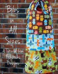 The Bibs in All Sizes Tutorial | Fishsticks Designs Blog