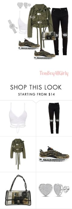 """""""HBA"""" by tomboyallgirly on Polyvore featuring Hood by Air, Craig Green, NIKE and Chanel"""