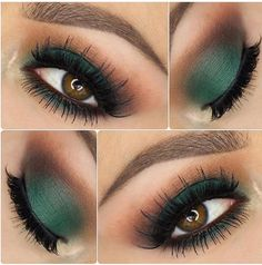 """The Grass is always greener Jenny Cline used Morphe shadows for this Forrest . ""The Grass is always greener Jenny Cline used Morphe shadows for this Forrest . Eye Makeup Tips, Smokey Eye Makeup, Eyeshadow Makeup, Hair Makeup, Makeup Ideas, Makeup Inspo, Makeup Products, Matte Eyeshadow, Makeup Tutorials"