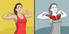 9 Stretching Exercises That Can Replace a Massage Session - Food: Veggie tables Upper Back Stretches, Back Stretching, Stretching Exercises, Chest Muscles, Core Muscles, Back Muscles, Dor Cervical, Neck And Shoulder Exercises, Upper Body