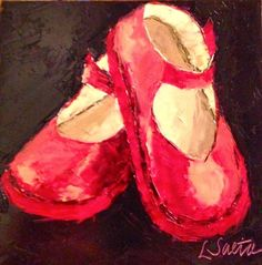 Thirty Paintings in 30 Days - Day Twenty-Four, painting by artist Leslie Saeta