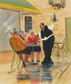 Image of 'Helping Hand' Giclee Canvas
