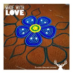 Made with #love. #Tlicho artist from #Whati, NT.
